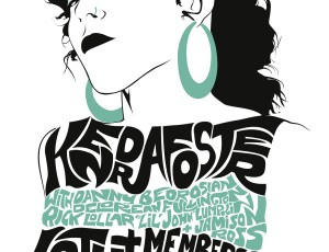 Kendra Foster Vintage Show Poster by Stephen Leacock