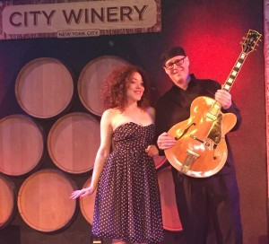 Kendra Foster City Winery with Piers Lawrence